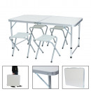 wholesale Outdoor & Camping: Camping table with 4 chairs