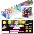 grossiste Bricoler et dessiner: 500 pièces kit  bracelet en  caoutchouc de ...