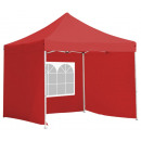 wholesale Parasols & Pavilions: Folding garden pavilion with 2.9 x 2.9m side wall