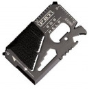 wholesale Manual Tools: Credit card-sized  pocket tool - black, metallic