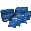 Großhandel Reiseartikel: 6-teiliges Set bőröndrendező