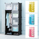 Plastic battery cabinet in 4 colors