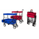 Folding trolley with roof, 2 colors