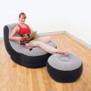 Großhandel Wassersport & Strand: Aufblasbarer Sessel mit Fußstütze