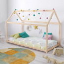 Cottage-shaped cot, 70x140