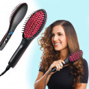 Electric hair straightener comb, black