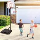 Großhandel Bälle & Schläger: Mobiles verstellbares Basketballbrett