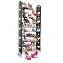 grossiste Petit mobilier: stockage de  chaussure 10 en ligne, noir