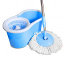 wholesale Cleaning:Rotary heads mop, blue