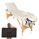 3-zone portable massage bed