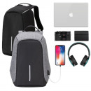 Anti-theft backpack, 2 colors