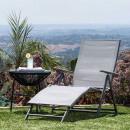 wholesale Garden Furniture: Comfort sunbed, tilt and adjustable