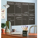 wholesale Gifts & Stationery: Adhesive board sticker with 5 chalk