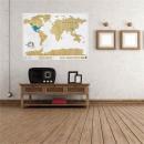 nagyker Játékok: Kaparós  világtérkép, 88 x 52 cm