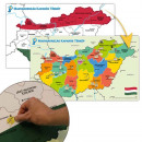 Hungary scratch map