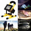 Portable  rechargeable LED reflector
