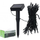 100 LED solar  powered garden light strings