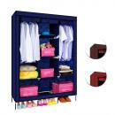 Großhandel Möbel: Mobile Garderobe, 135X45X175 cm