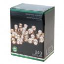 grossiste Chaines de lumieres: 240 LED blanc  chaud guirlande lumineuse, 21 m