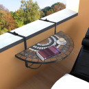 wholesale furniture: Folding balcony table in 2 colors