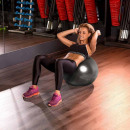 Großhandel Bälle & Schläger: Fitnessball, 75 cm, mit Pumpe