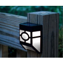 wholesale Garden & DIY store:Outdoor black solar lamp