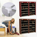 Mobile shoe storage cabinet in 4 colors
