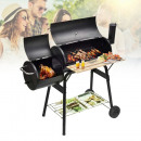 wholesale Barbecue & Accessories: 2in1 charcoal BBQ grill and smoker