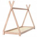 Großhandel Kindermöbel: Holzbettrahmen 70 * 40, natürlich