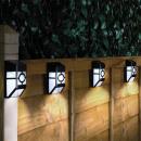 wholesale Garden Decoration & Illumination: Outdoor black solar lamp, 4pcs