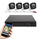 wholesale Security & Surveillance Systems: Indoor and outdoor wired AHD camera system