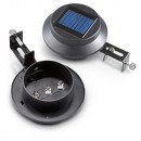 Solar lamp on the eve