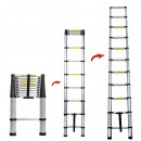 mayorista Boutiques y almacenamiento: Escalera telescopica de aluminio 3.5m