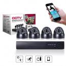 wholesale Business Equipment: 4 camera surveillance system