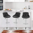 wholesale Small Furniture: 2 backrest bar stools, 2 colors