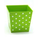 Flowerpot green 18,2x14x16cm