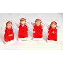 Kerst decoratie Angel 3x2,3x7,3cm