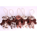 De decoratie van Kerstmis Bear 15cm