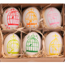 Easter Egg real pattern 6cm