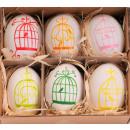 Easter Egg real pattern 6cm
