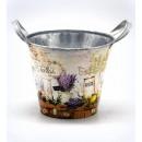 Großhandel Pflanzen & Töpfe: Töpfe, Blumenohren Lavendel 17x14,5cm