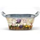 Großhandel Pflanzen & Töpfe: Blume, oval  Lavendel 19,5x11x8,5cm