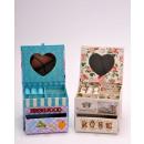 grossiste Boîtes et presentoirs bijoux: Boîte à bijoux 11x9,5x8,2cm