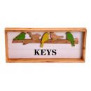 Keychain Vintage pattern 37,5x4,5x16cm