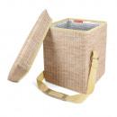 Wine cooler bag for picnic 7,2x31,5x34,8cm