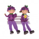 Decoration Kid's with Leggings in Grape Cap 6x
