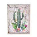 wholesale Pictures & Frames: Photo frame with tweezers, cactus 40x30x3,5cm