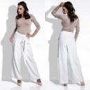ingrosso Orologi di marca: pantaloni, elegante, ampia, di qualità, ecru