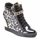 wholesale Shoes: SHOES BLACK WOMEN sneakers TRAMPKI