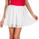 Großhandel Röcke: Minirock, luftig, sommerlich, weiß, unisize